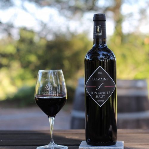 vin rouge BIO du Minervois